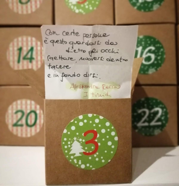3 dicembre: Alessandra Racca e i timidi