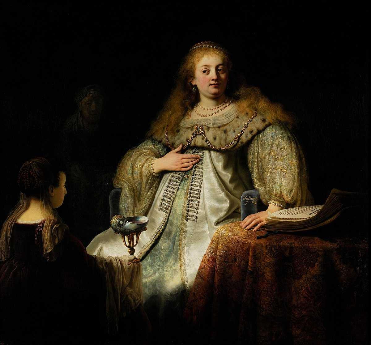 Javier Marìas, Un cuore così bianco (L'Artemisia di Rembrandt)